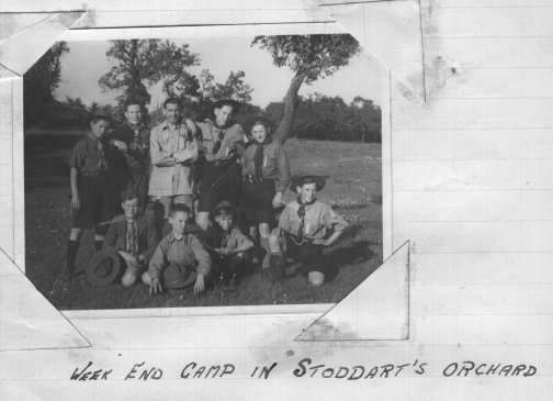 Whitsun 1948 Orchard Camp