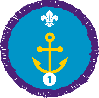 Nautical Skills Staged Activity Badge