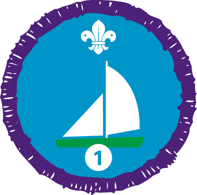 Sailing Staged Activity Badge