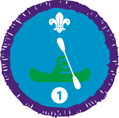 Time on the Water Staged Activity Badge