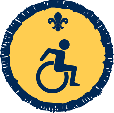 Disability Awareness Activity Badge