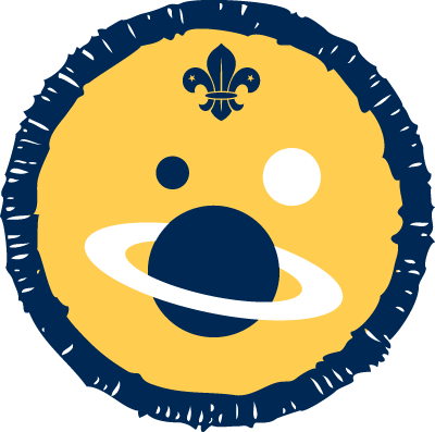 Space Activity Badge