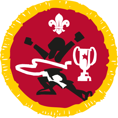 Athletics Plus Activity Badge