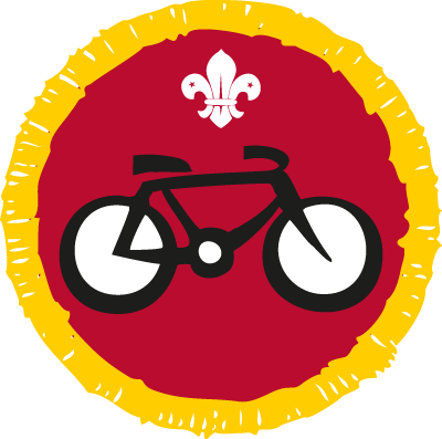 Cyclist Activity Badge