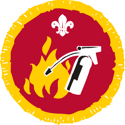 Fire Safety Activity Badge