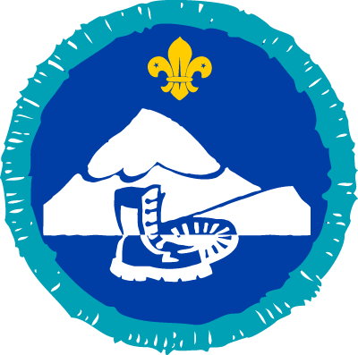 Hill Walker Activity Badge