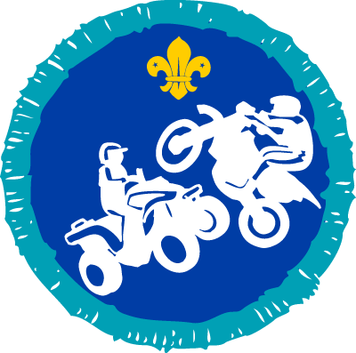 Motor Sports Activity Badge