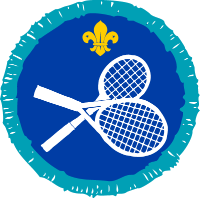 Racquet Sports Activity Badge