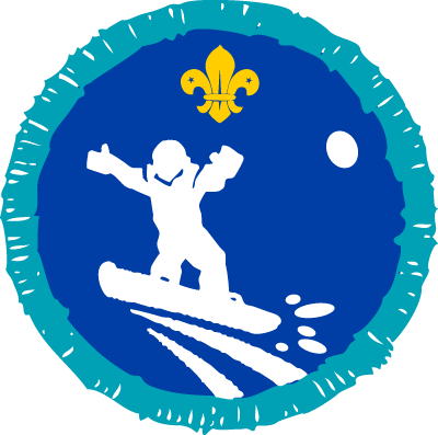 Snowboarding Activity Badge